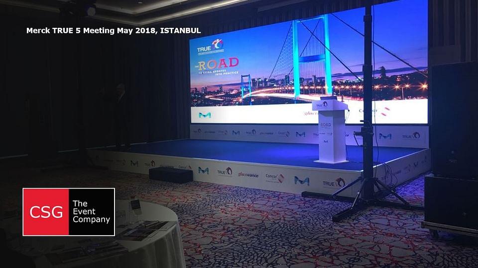 Merck TRUE 5 Meeting May 2018, Istanbul