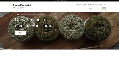 Webshop, Lana Exclusief - Website Creatie