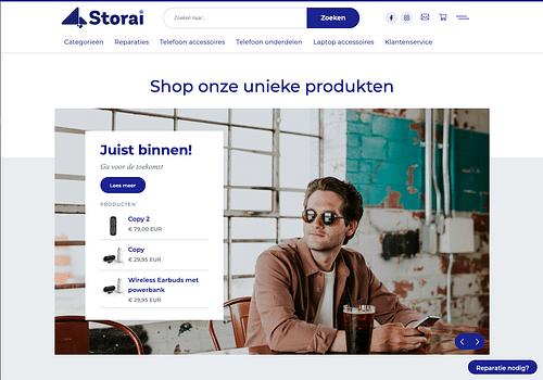 Storai E-commerce articles nomade digital - E-commerce