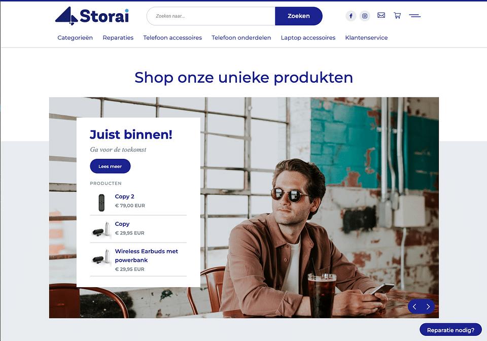 Storai E-commerce articles nomade digital