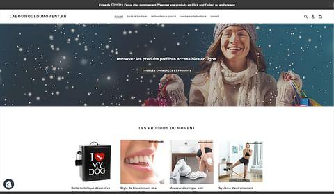boutique e-commerce laboutiquedumoment.fr