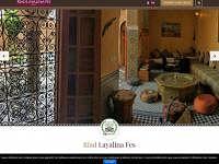 Réalisation du site d'un hôtel à Fes, Maroc