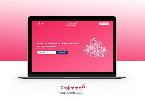 PROJIMMO - Plate-forme web immobilière sur-mesure - Création de site internet