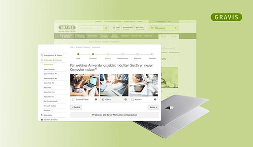 Gravis - eCommerce Support - Webseitengestaltung