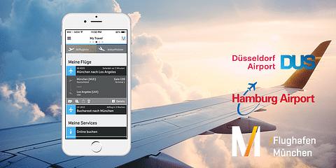 Munich Airport / Passngr App