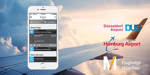 Munich Airport / Passngr App - Mobile App