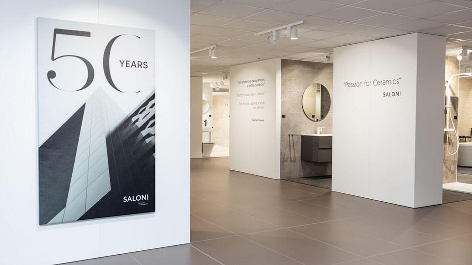 Exposición completa para  Saloni