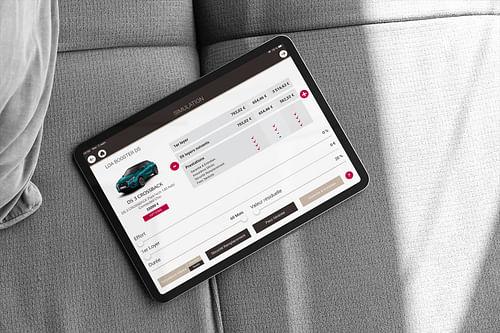 PSA - Wefin / Quikfin / DSfin - Application mobile