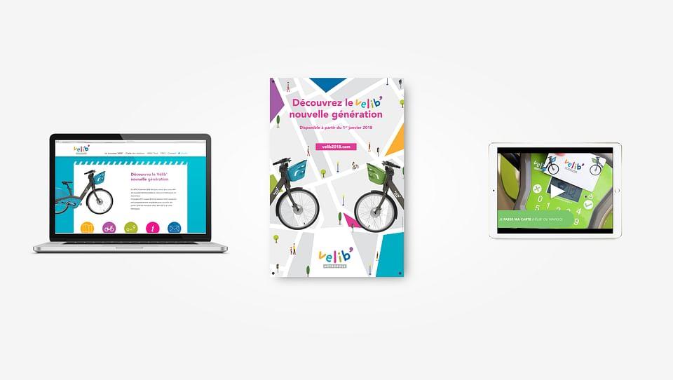 Vélib Métropole stratégie marketing / comm