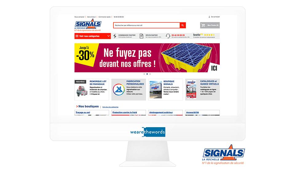 Landing pages e-commerce