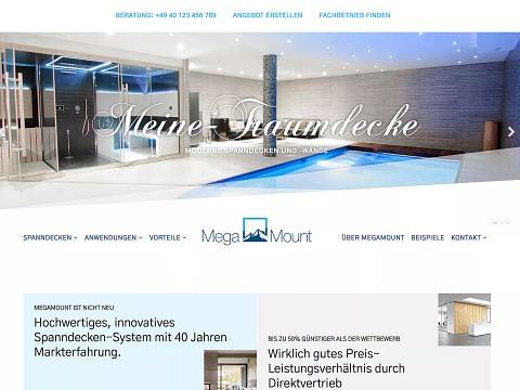 Digital-Strategie: Megamount – Meine Traumdecke...
