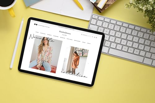 Rimbaldienne - E-commerce