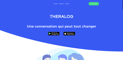 Theralog - Application mobile