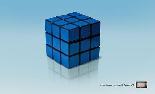 Rubik's cube - Advertising