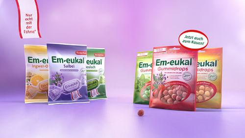 Em-eukal®: Mit Gummidrops erstmals im TV. - Motion-Design