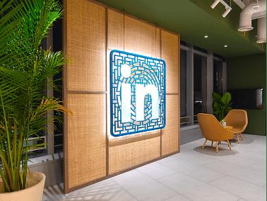 Branding Linkedin Shanghai's Office