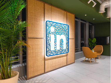 Branding Linkedin Shanghai's Office - Graphic Design