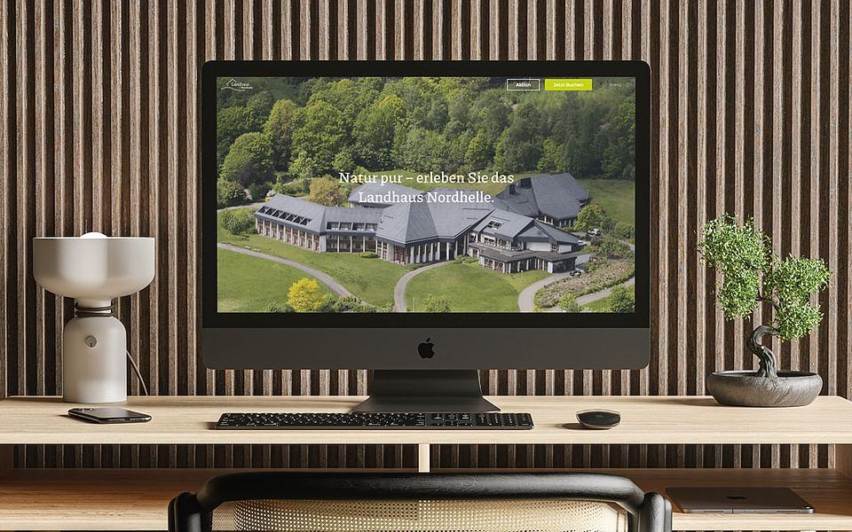 Landhaus Nordhelle – Neuer Webauftritt