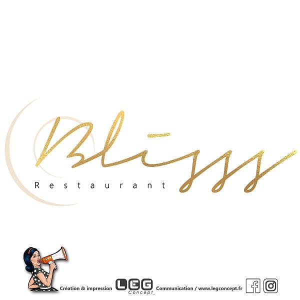 Création de logo restaurant BLISSS Mérignac