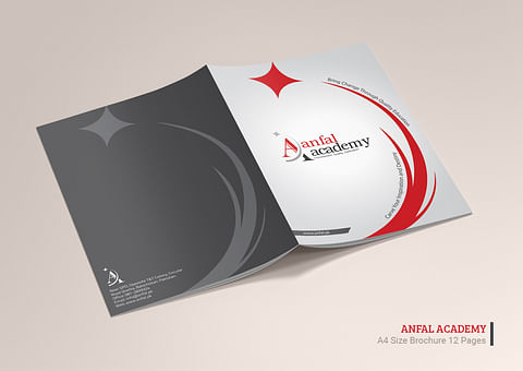 Company Profile Design for Anfal Academy