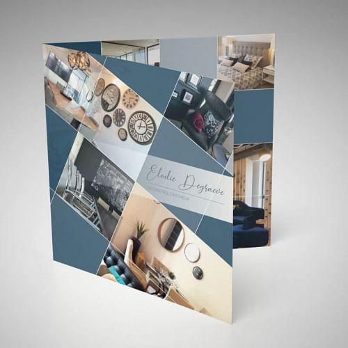 Communication print - Elodie Degraeve - Design & graphisme