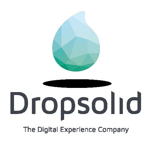 Logo de Dropsolid - The Digital Experience Company