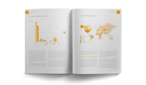 Editorial design for the WCO - Design & graphisme