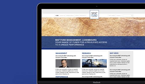 Map Funds – Web design - Création de site internet
