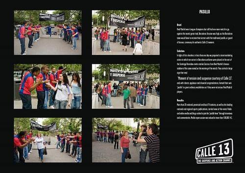 PASILLO - Publicidad