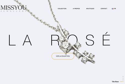 Miss You Luxury Jewelry - Publicité en ligne