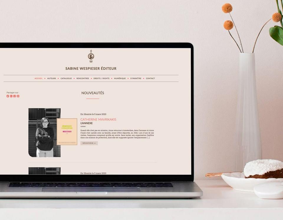SWEDITEUR | Site internet