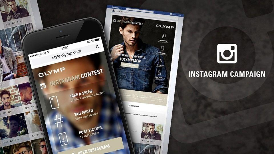 OLYMP – Instagram Kampagne