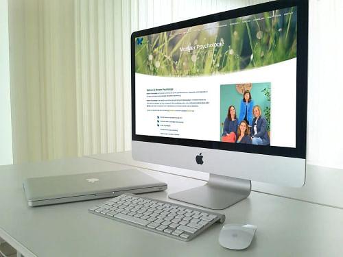 Nieuwe website Meester Psychologie - Website Creatie