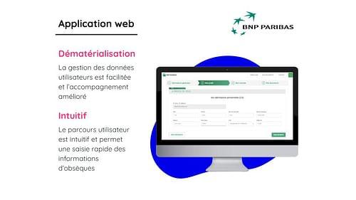 BNP PARIBAS CARDIF - Aplicación Web