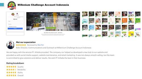 MCA Indonesia - Digital Marketing Campaign - SEO