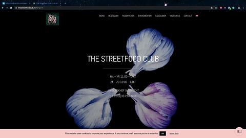 The Streetfood Club: website