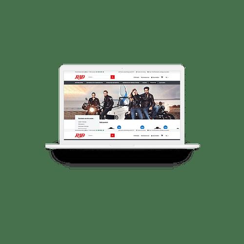 UX-design RAD webshop - Ergonomie (UX / UI)