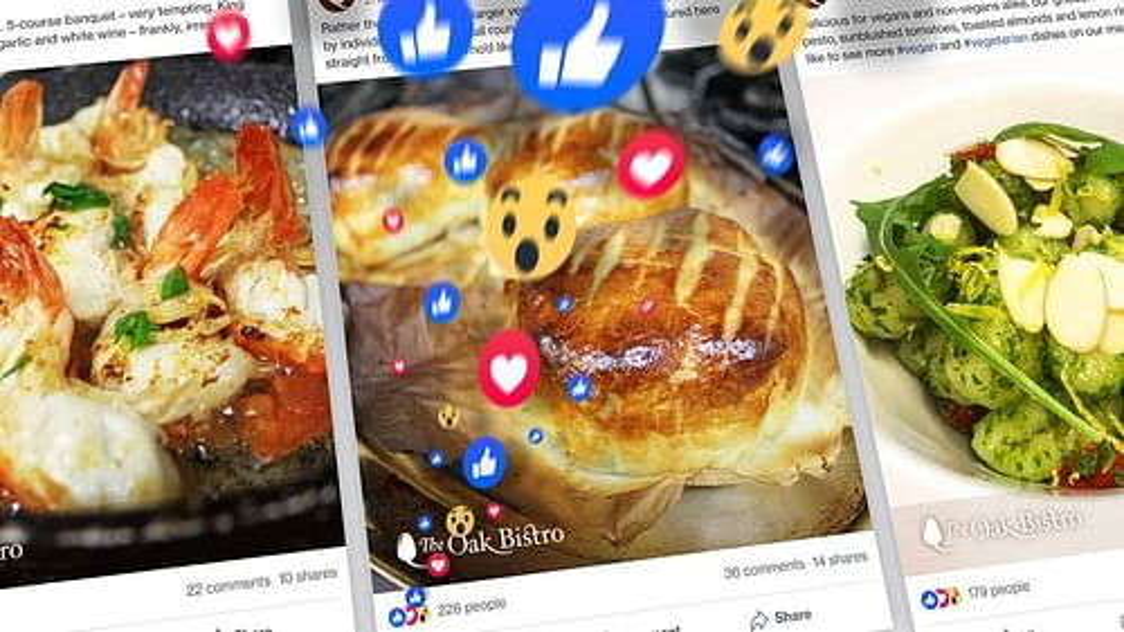 Restaurant Social Media - Graphic Design