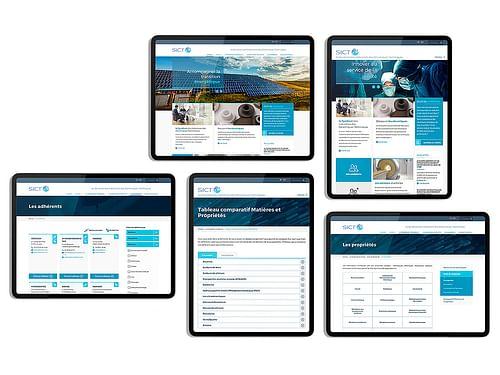 Site Internet :  Industrie Céramiques techniques - Création de site internet