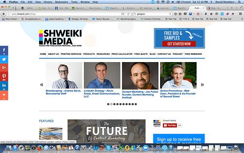 Shweiki Media Printing Company - Branding & Positioning