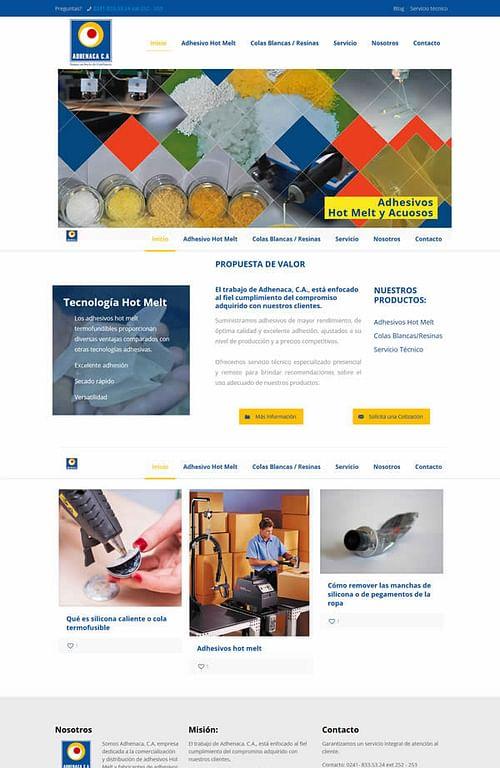www.adhenaca.com - Digital Strategy