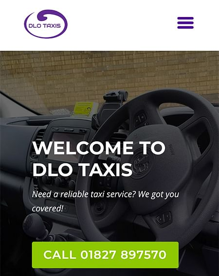 New Website for Dlotaxis.co.uk - SEO