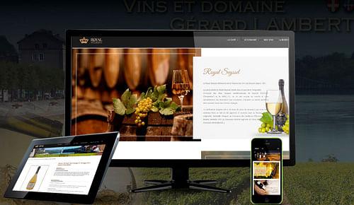 E-commerce vin CAVE LAMBERT Haute-Savoie - Création de site internet
