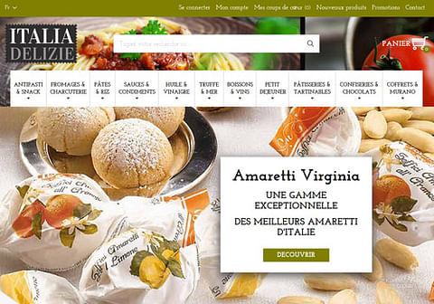 Création d'un site E-commerce alimentaire
