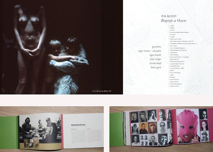 ontwerp boek Phil Bloom