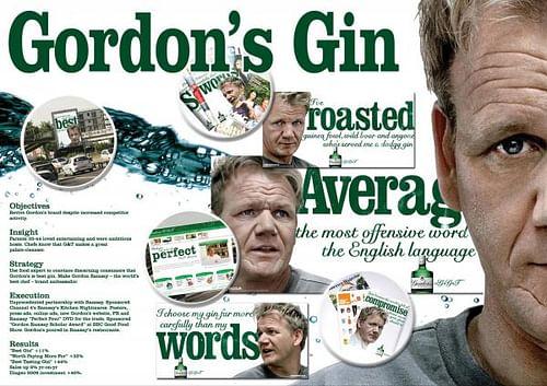 GORDON'S AND GORDON - Advertising