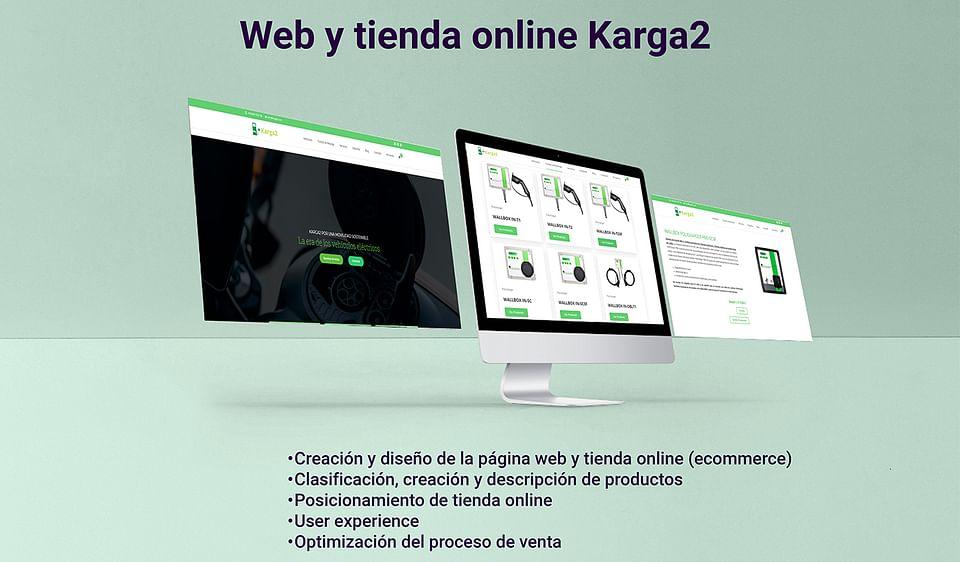 Diseño web y tienda online Karga2