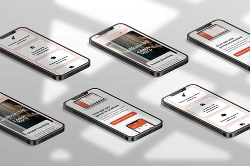 Coach Hero - Web & App Design - Ontwerp