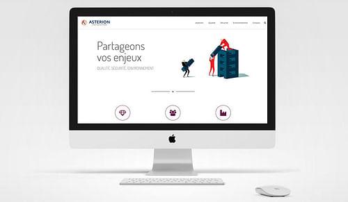 Site vitrine Asterion - Création de site internet