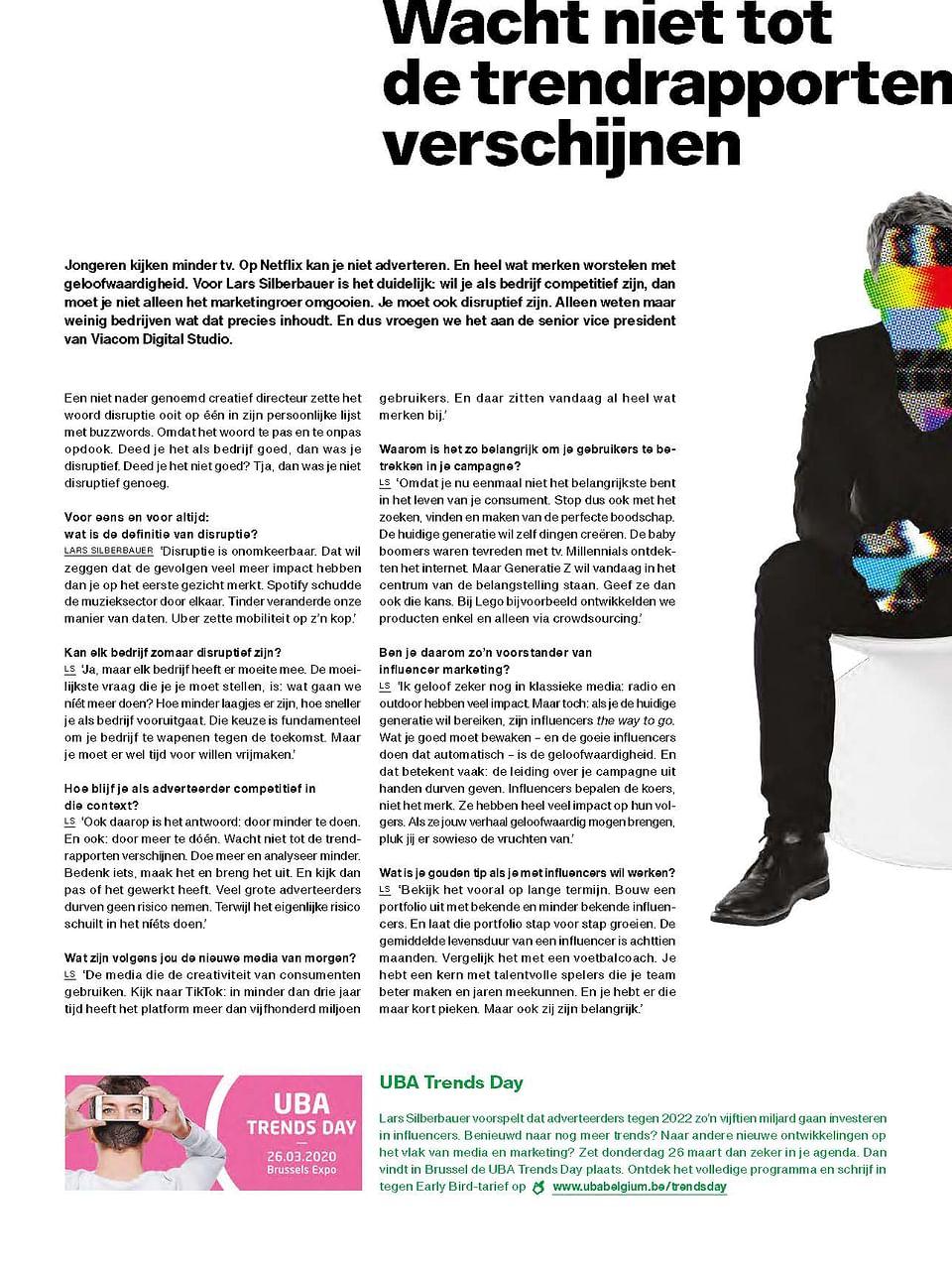 Artikel voor bpost | Sparkle n° 12